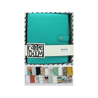 Simple Stories Carpe Diem Posh A5 Planner Set Aqua