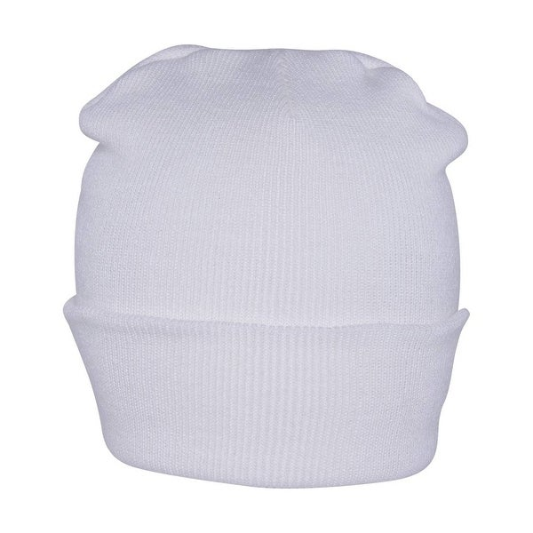 Shop Long Beanie - White - Free Shipping On Orders Over  45 - Overstock.com  - 16947633 7f111086f2b