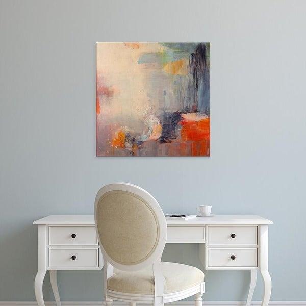 Easy Art Prints Lina Alattar's 'Soft Landings' Premium Canvas Art