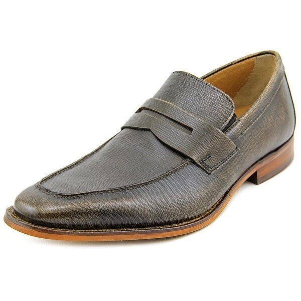 Florsheim Sabato Penny Men Apron Toe Leather Bronze Loafer