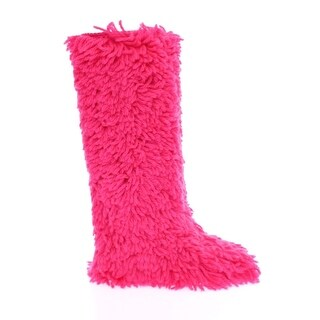 Dolce & Gabbana Pink Wool Runway Boots Shoes Stivali - 41