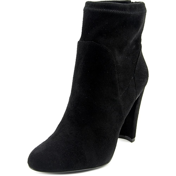 Charles By Charles David Semi Women Round Toe Synthetic Black Ankle Boot