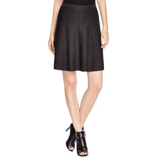Eileen Fisher Womens A-Line Skirt Merino Wool Solid - XL