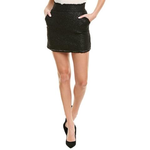 Pinko Wool-Blend Mini Skirt
