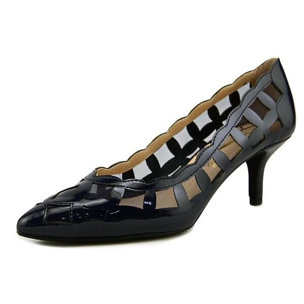 J. Renee Winda Women N/S Pointed Toe Synthetic Blue Heels