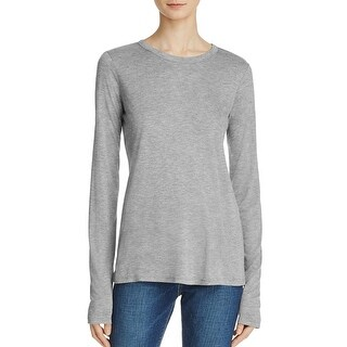 Theory Womens Ailer Casual Top Hi-Low Crew Neck - p