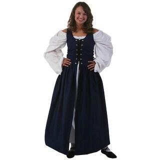 Navy Irish Renaissance Dress