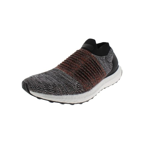 788c92c27839d6 Adidas Mens UltraBOOST Laceless Running Shoes Knit Slip-On