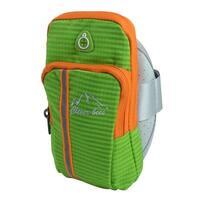 Unique Bargains Camping Nylon Hiking Backpack Arm Bag Phone Holder Green
