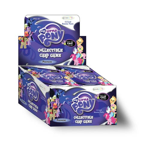 My Little Pony: Collectible Card Game Premiere Edition Booster Box