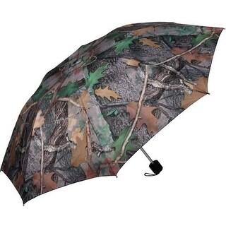"River's Edge 42"" Compact Folding Camo Umbrella 247"