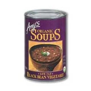 Amys Organic Black Bean Vegetable Soup - 14.5 Ounce