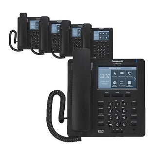 """Panasonic KXHDV430B (5-Pack) KX-HDV430 Executive SIP Phone"""