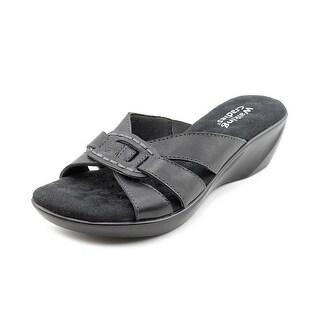 Walking Cradles Coco Open Toe Leather Slides Sandal