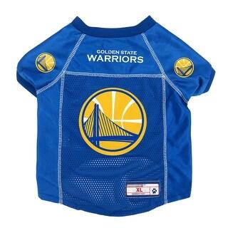 Golden State Warriors Pet Jersey Size XL