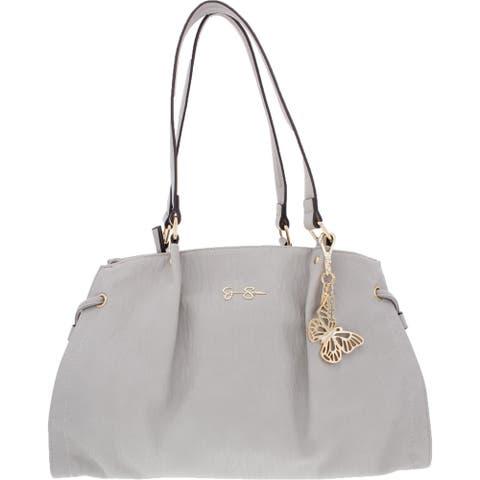 Jessica Simpson Arden Women's Faux Leather Signature Tote Handbag - Large