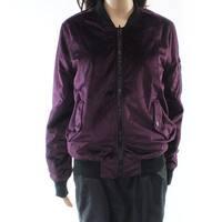 John + Jenn Womens Small Reversible Bomber Jacket