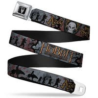 Smaug Icon Full Color Black Gray The Hobbit The Battle Of The Five Armies Seatbelt Belt