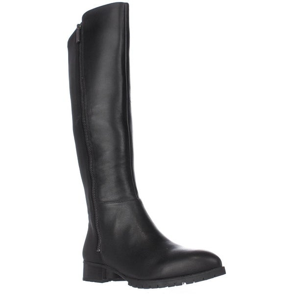 Nine West Legretto Knee-High Boots, Black/Black