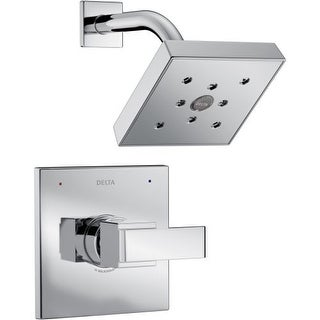 Delta T14267 Ara Monitor 14 Series 2.0 GPM Single Function Pressure Balanced Shower Trim Package with H2Okinetic Shower Head -