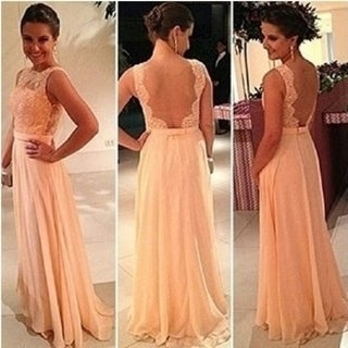Link to Summer Fashion Sexy Backless Dress And Lace Stitching Chiffon Dress Similar Items in Athletic Clothing