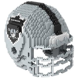 Oakland Raiders 3D NFL BRXLZ Bricks Puzzle Team Helmet