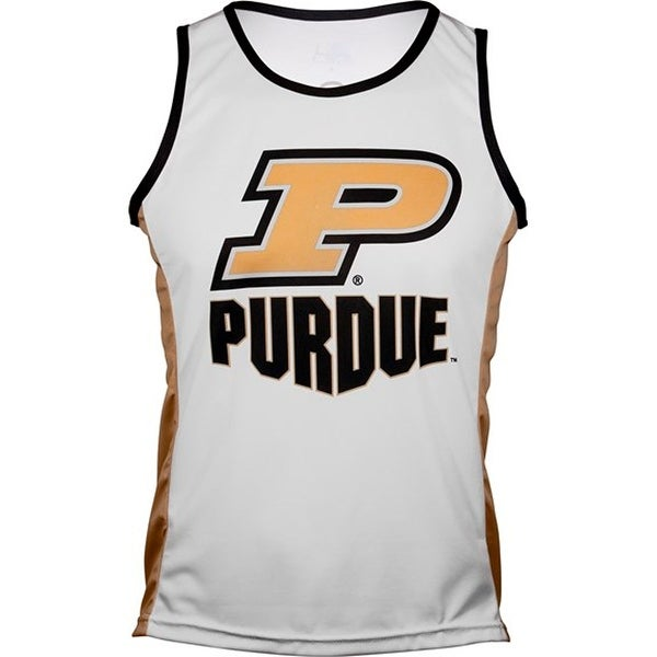Adrenaline Promotions Women's Purdue University Run/Tri Singlet - White