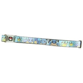 Pokemon Youth Seatbelt Belt 20 - 36 Inches - Squirtle Evolution