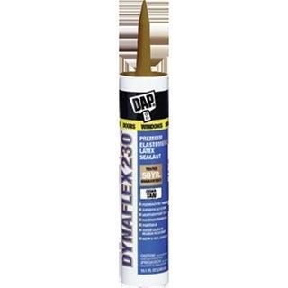 Dap 18412 10.3 oz. Cedar Tan 230 Dynaflex Elastomeric Latex Sealant