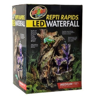 zm med wood led waterfall rapids