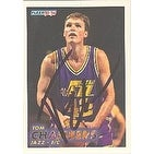 Tom Chambers Utah Jazz 1993 Fleer Autographed Card Nice Autograph This item comes with a certific