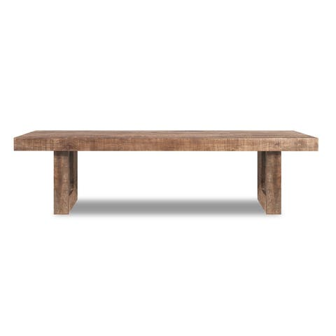 Solid Mango Wood Dining Bench