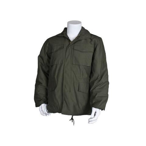 Fox Outdoor Jacket Mens M65 Field Zipper Fiberfill Insulated
