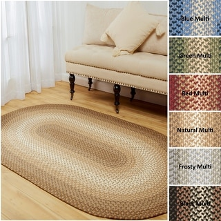 Link to Norfolk Flat-braided Indoor/ Outdoor Rug Similar Items in Rustic Rugs