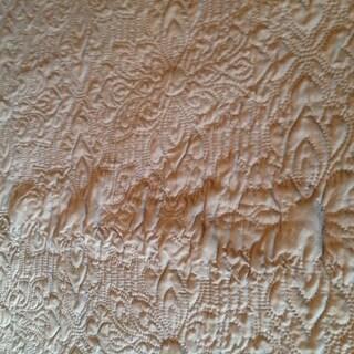 VCNY Caroline 3 piece Embossed Quilt Set