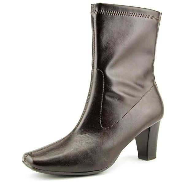 Aerosoles Geneva Women  Round Toe Synthetic Brown Ankle Boot