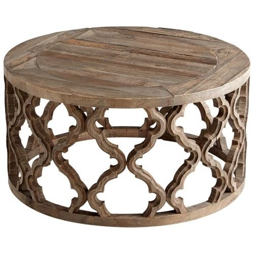 Shop Cyan Design Sirah Coffee Table Sirah Inch Diameter Wood - 30 inch diameter coffee table
