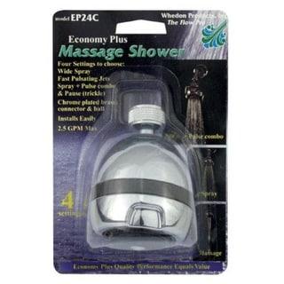 Whedon EP24C Economy Plus 4-Position Massage Showerhead