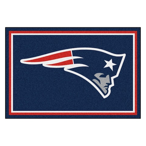 NFL - New England Patriots 5ft. x 8 ft. Plush Area Rug - 5' x 8'/Surplus - 5' x 8'/Surplus