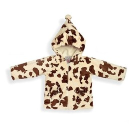 Fuzzy Wear Pinto Pony Hoodie Brown 18-24 Months