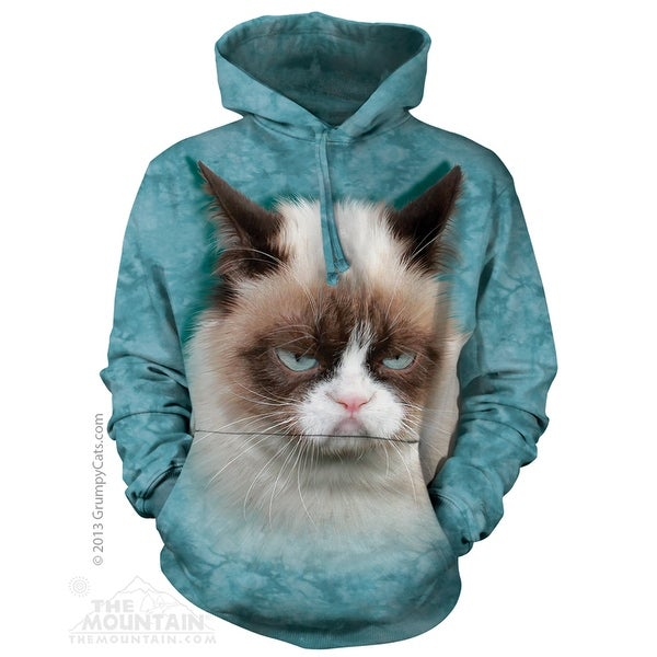 The Mountain Cotton Grumpy Cat Hoodie