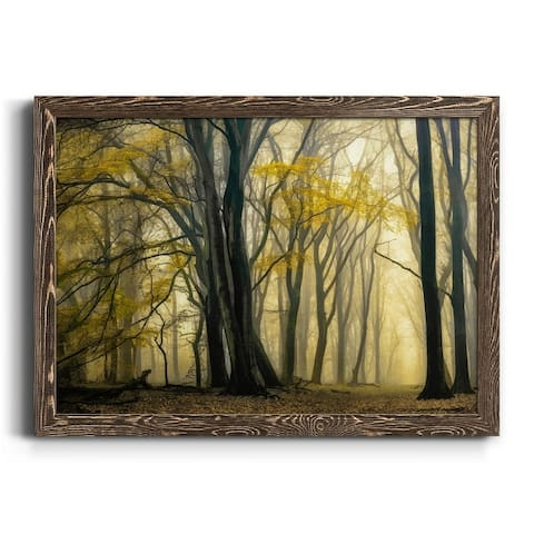 In Love with Golden Fall-Premium Framed Canvas - Ready to Hang