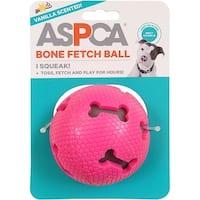 Pink - Aspca Bone Fetch Ball Dog Toy