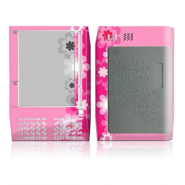 DecalGirl AKIN-RETROFLOWER-PNK Kindle Skin - Retro Pink Flowers