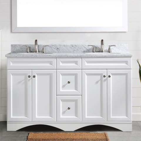 "Proox 60"" Double Bathroom Vanity Cabinet"