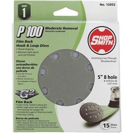 "Shop Smith 15Pk 5"" 100G Sand Disc"