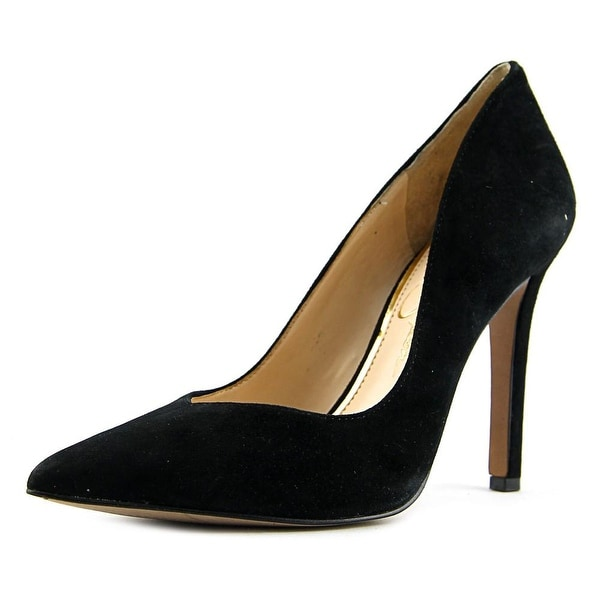 Jessica Simpson Cylvie Women Pointed Toe Suede Black Heels