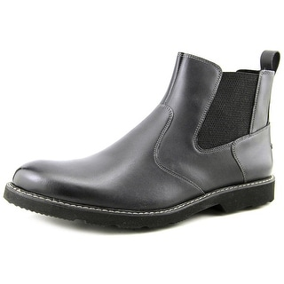 Florsheim Casey Gore Men Round Toe Leather Black Boot