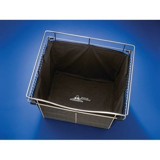 "Rev-A-Shelf CHBI-241418-LQ CHB Series 24"" x 14"" x 18"" Closet Basket Hamper Bag Insert"