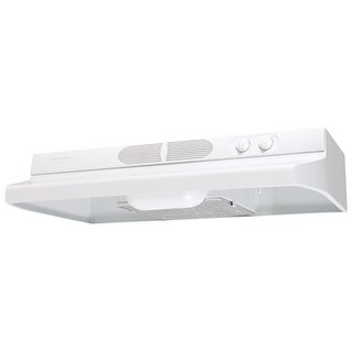 "Air King QZ236 36"" 250 CFM Under Cabinet Range Hood with Infinite Speed Controls from the Quiet Zone Collection"